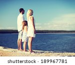 summer holidays  celebration ... | Shutterstock . vector #189967781