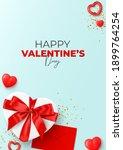 happy valentine's day flyer....   Shutterstock .eps vector #1899764254