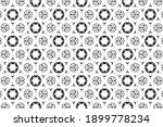 ornament with elements of black ... | Shutterstock . vector #1899778234