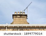 Chimney Stack Aerial And...