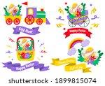 easter vector illustration for... | Shutterstock .eps vector #1899815074