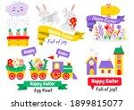 easter vector illustration for... | Shutterstock .eps vector #1899815077