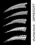 car tires print  motorcycle... | Shutterstock .eps vector #1899835297