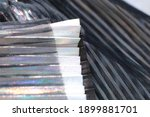 fashionable pleated fabric...   Shutterstock . vector #1899881701