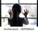 Young Girl At Window  In...