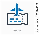 flight travel or air route and...   Shutterstock .eps vector #1899949027