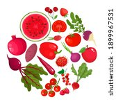 vector concept   eat colors for ... | Shutterstock .eps vector #1899967531