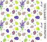 watercolor easter seamless...   Shutterstock . vector #1899971581