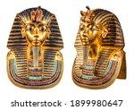 Isolated Egyptian Pharaoh...