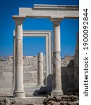 Small photo of Temple of Demeter Naxos Greece