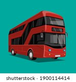 Red Double Decker Bus City...