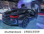 Постер, плакат: BMW i8 car on