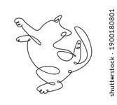 continuous one line drawing of...   Shutterstock .eps vector #1900180801