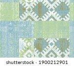 modern pastel tie dye geometric ... | Shutterstock . vector #1900212901