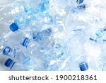 Many Used Plastic Bottles As...