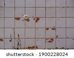 Old Abandoned Bathroom With...