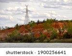 Outback Australia Power Pylon...