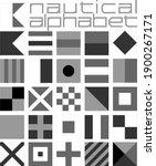 nautical alphabet ...   Shutterstock .eps vector #1900267171