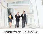 asian business team meeting... | Shutterstock . vector #190029851