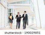 asian business team meeting... | Shutterstock . vector #190029851