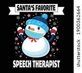 santa's favorite speech... | Shutterstock .eps vector #1900362664
