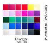 seasonal color analysis palette