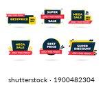sale banner templates design.... | Shutterstock .eps vector #1900482304