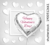 happy valentines day. heart...   Shutterstock .eps vector #1900512661