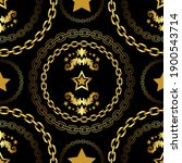 traditional baroque seamless... | Shutterstock .eps vector #1900543714