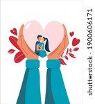Valentine's Day Postcard Couple ...