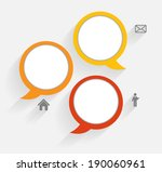 infographic business template... | Shutterstock .eps vector #190060961