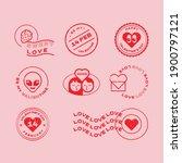 valentine's day illustrations... | Shutterstock .eps vector #1900797121