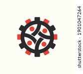 gear community vector concept... | Shutterstock .eps vector #1901047264