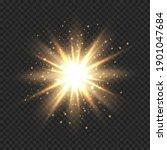 star burst with sparkles....   Shutterstock .eps vector #1901047684