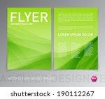 Abstract Vector Modern Flyer  ...