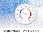 Celsius Scale Thermometer On A...