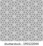 geometric arabic seamless... | Shutterstock .eps vector #190122044