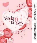 valentines day trending...   Shutterstock .eps vector #1901222794