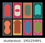 art nouveau and art deco frames ... | Shutterstock .eps vector #1901254891