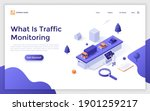landing page template with man...   Shutterstock .eps vector #1901259217