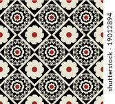 floral pattern   Shutterstock .eps vector #19012894