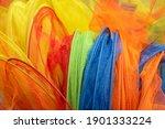 Bright Multicolored Nets Of...