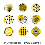circle geometry creative design ... | Shutterstock .eps vector #1901388967