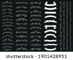calligraphic design elements .... | Shutterstock .eps vector #1901428951