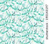 vector seamless pattern with...   Shutterstock .eps vector #190143197