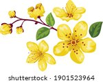 vietnamese tet holiday with...   Shutterstock .eps vector #1901523964