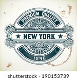 retro badge | Shutterstock .eps vector #190153739
