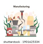 food industry sector of the... | Shutterstock .eps vector #1901625334