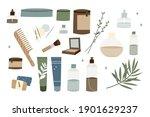 natural skin care. organic...   Shutterstock .eps vector #1901629237