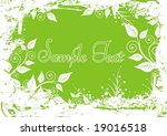 beautiful floral background | Shutterstock .eps vector #19016518